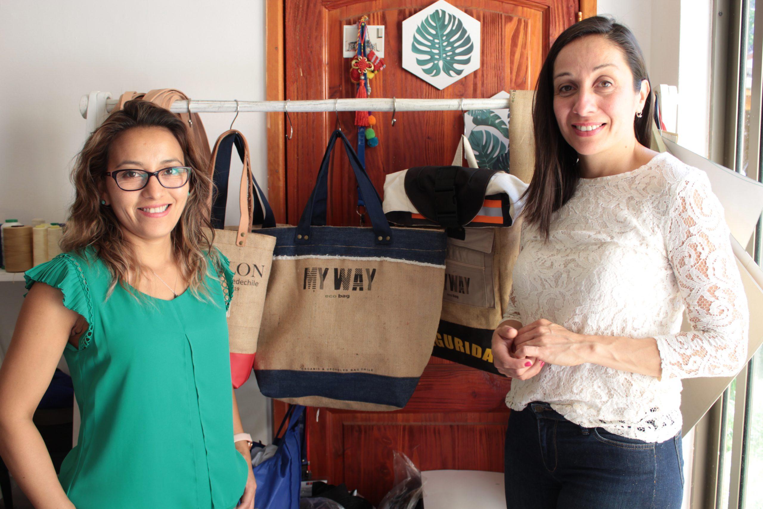 De Machalí a París: cómo un bolso de tela y yuta se transformó en un ejemplo de economía naranja o circular