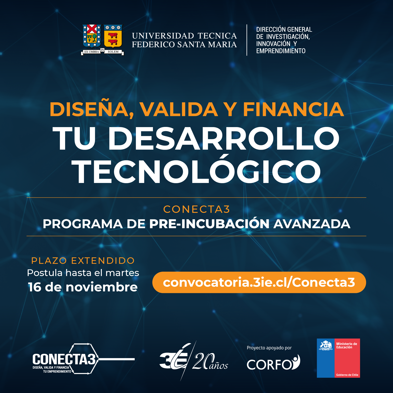 Dirección de Emprendimiento USM lanza programa para emprendedores de universidades chilenas